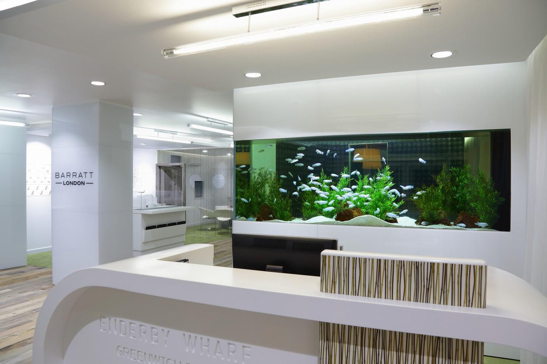 Office Fish Tanks. Beautiful Office Office Fish Tanks Simple Barratt Homes  Aquarium And Tanks U