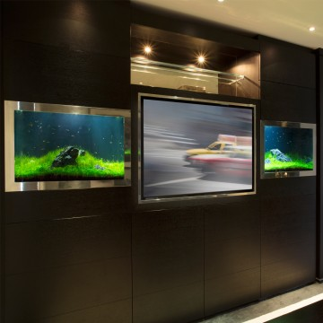 aquarium designs in wall aquariums free standing tanks. Black Bedroom Furniture Sets. Home Design Ideas