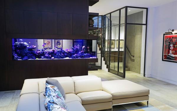 Verwonderend Modern Aquarium Installation - Aquarium Architecture RH-85